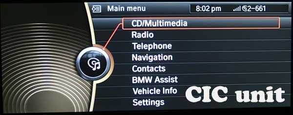 CIC Navigation Unit