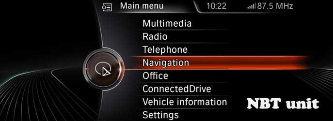 NBT Navigation Unit