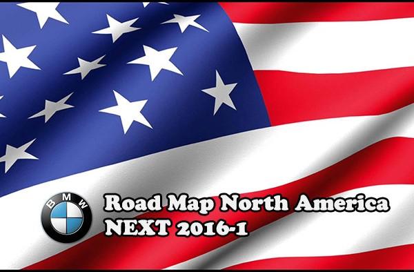 Road Map North America NEXT 2016-1