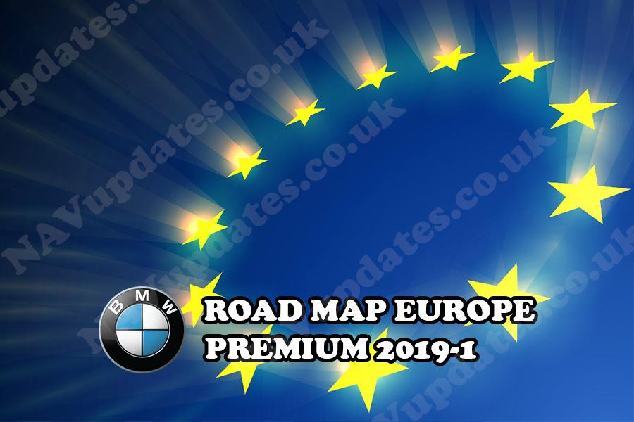 road map europe premium 2019 1 fsc code bmw map update. Black Bedroom Furniture Sets. Home Design Ideas