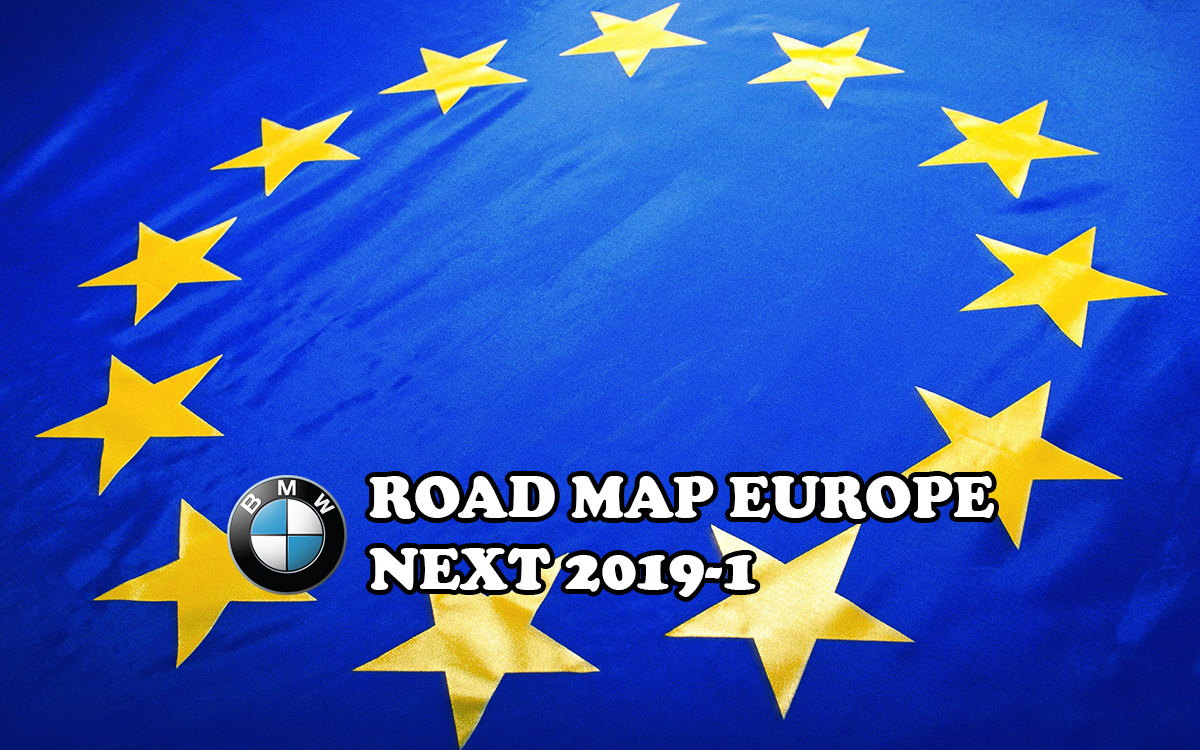 Bmw navigation Update instructions map europe Move 2018 2017 1