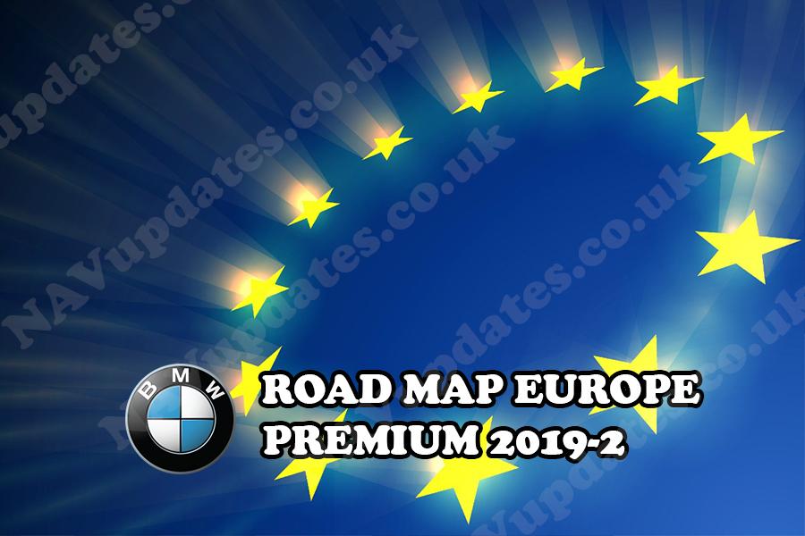 Road Map Europe Premium 2019 2 Fsc Code Bmw Map Update