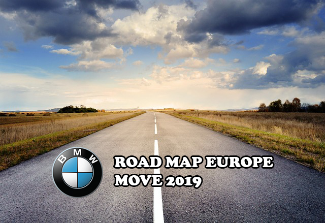 Road Map Europe Move 2019