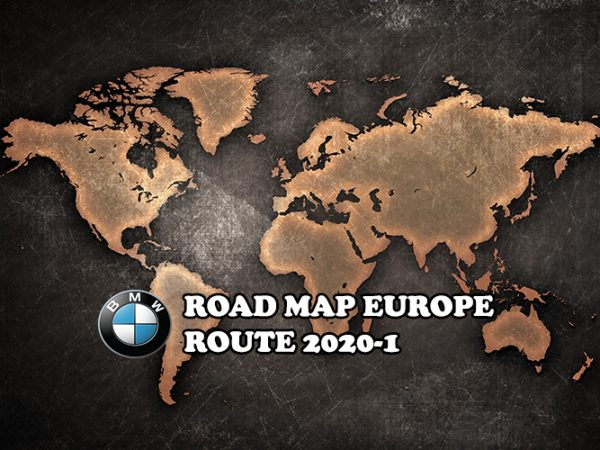 Road map Europe ROUTE 2020-1