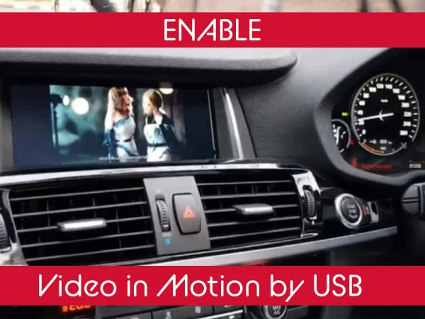 BMW Video in Motion by USB