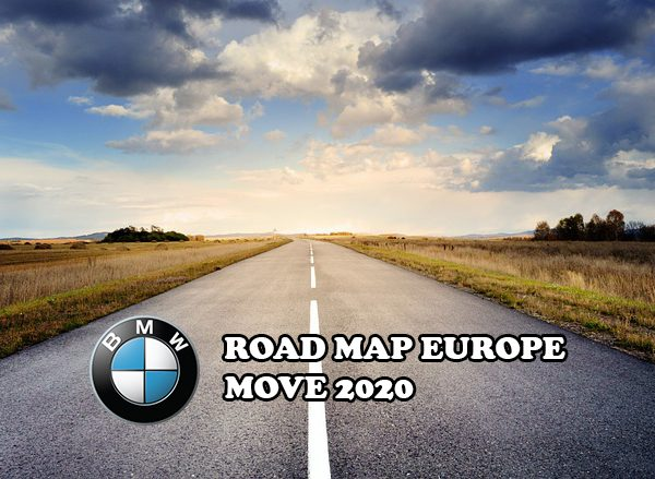 BMW MOVE 2020 MAP